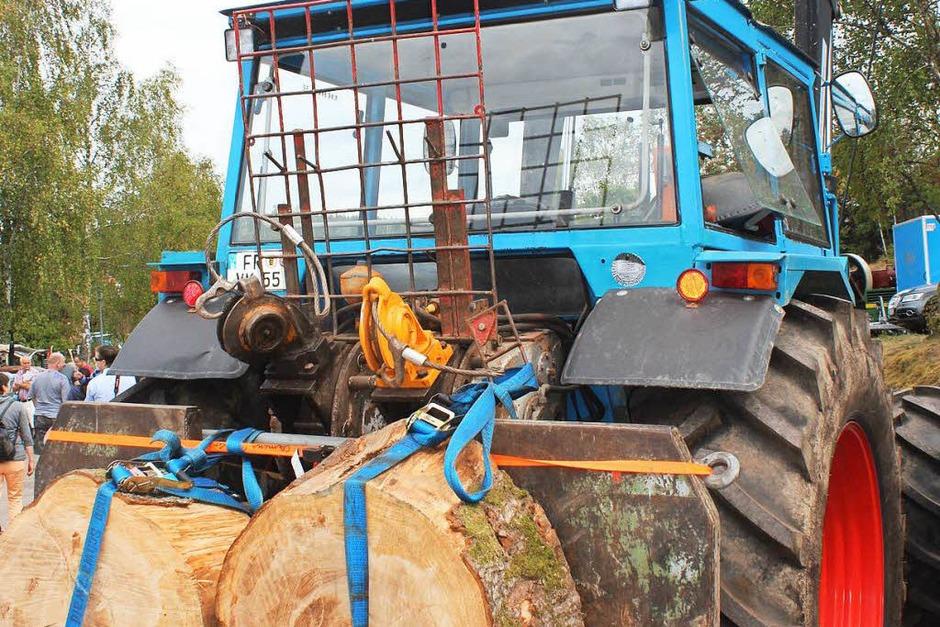 Alles passte beim Eicher-Treffen in Schluchsee: 300 Eicher-Traktoren der verschiedensten Ausführungen konnten von vielen Besuchern bei perfektemWetter und guter Stimmung bestaunt werden. (Foto: Christa Maier)