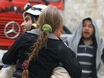 Lage in Aleppo