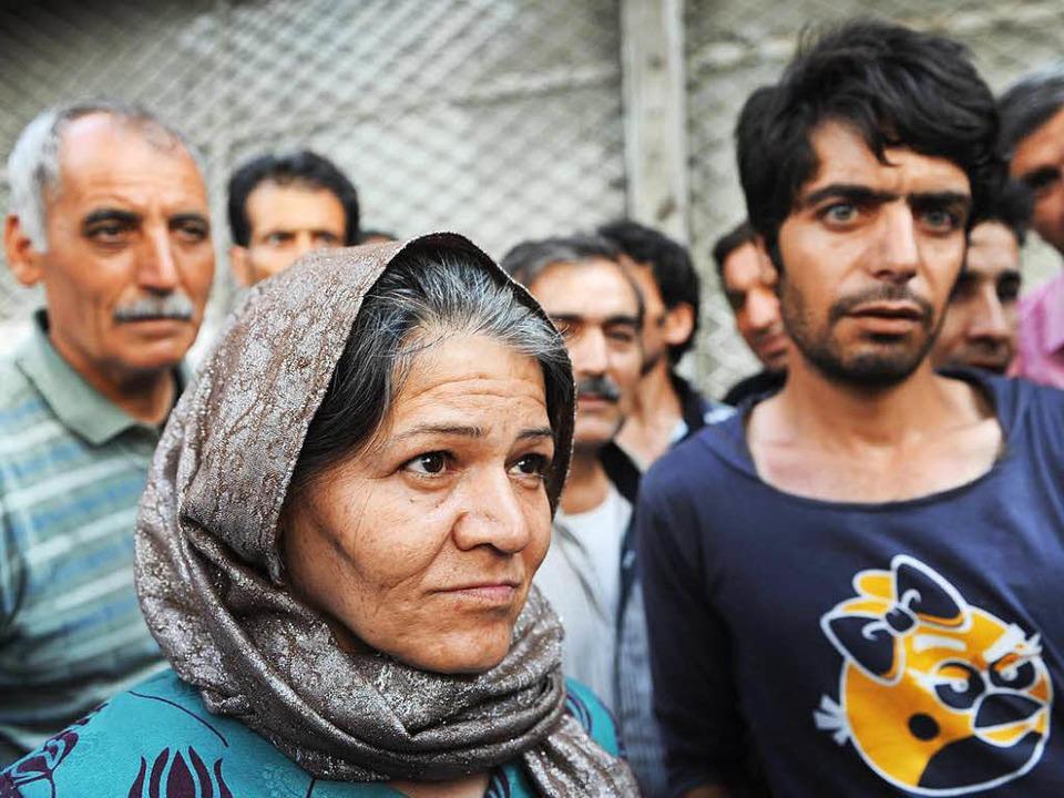 Süchtige im Süden Teherans rund um den Shoush-Platz   | Foto: Katharina Eglau