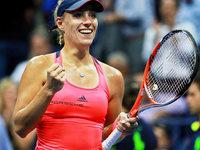 Neue Weltranglisten-Erste Kerber im Endspiel der US Open