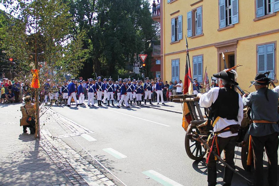 Offenburg feiert sich wegen der 13 Offenburger Forderungen vom 12. September 1847 als Wiege der Demokratie mit dem Freiheitsfest. (Foto: Judith Reinbold)