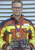 Philipp Kaiser ganz oben als Firefighter