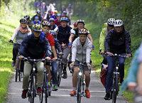 Beim Slow-Up Basel-Dreiland am Sonntag haben Bewegungsfreunde Vorfahrt