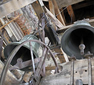 Glockenstuhl wird saniert