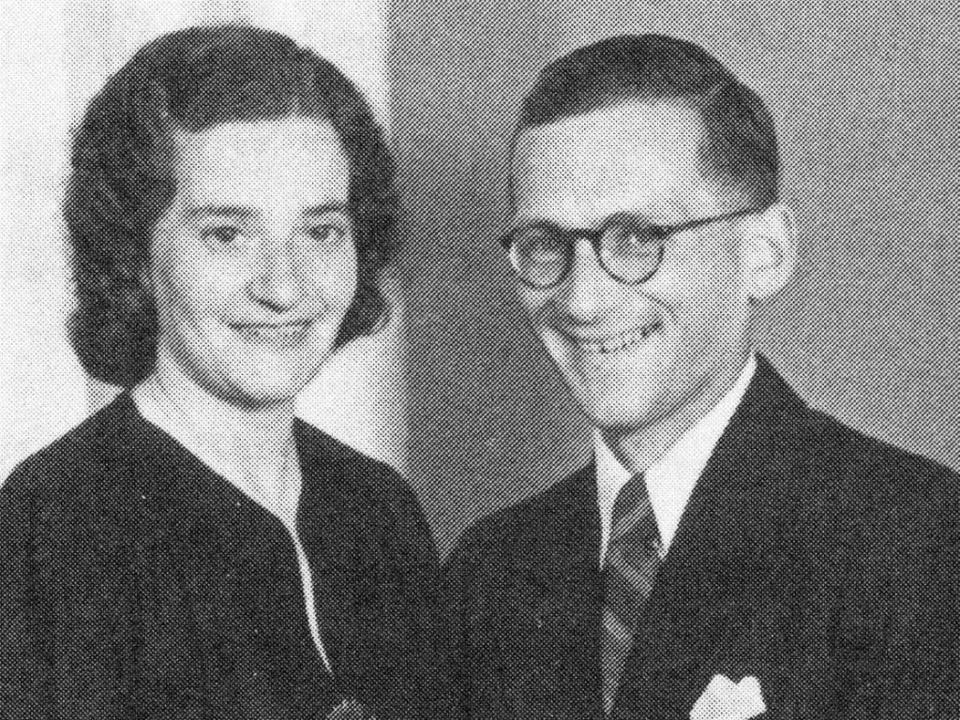 Heinz Drossel und seine Ehefrau Marianne im Mai 1946  | Foto: Privat