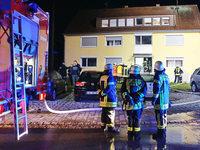 Brandstiftung in Heim für Obdachlose und Flüchtlinge