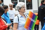 Fotos: Sternmarsch für ein buntes Weil am Rhein
