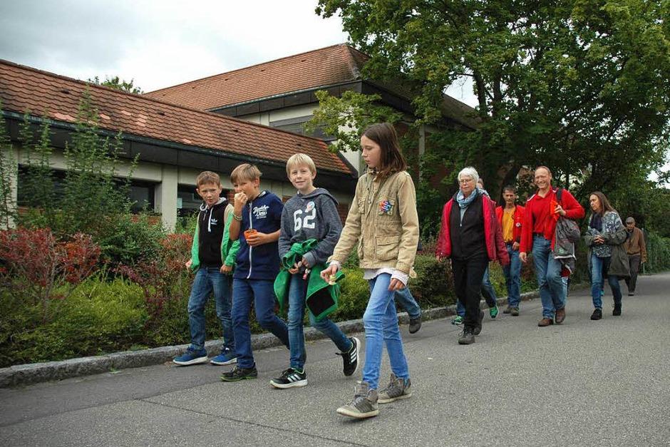 Sternmarsch-Impressionen (Foto: Regine Ounas-Kräusel)