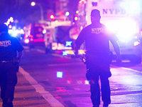 New York h�lt Atem an - Bombenexplosion ersch�ttert Manhattan