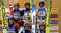 Skispringen ist Frauensache