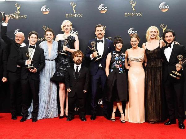 """""""Game of Thrones"""" wurde wie im vergangenen Jahr als beste Drama-Serie ausgezeichnet."""