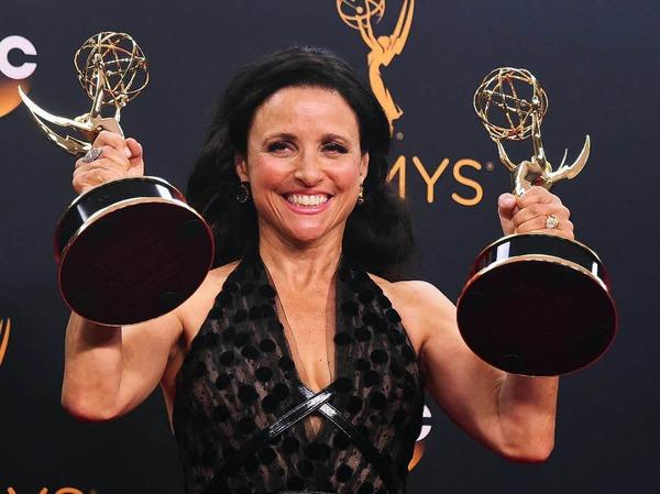 """Julia Louis-Dreyfus gewann mit """"Veep"""" in den Kategorien beste Comedy-Serie und als  beste Comedy-Schauspielerin."""