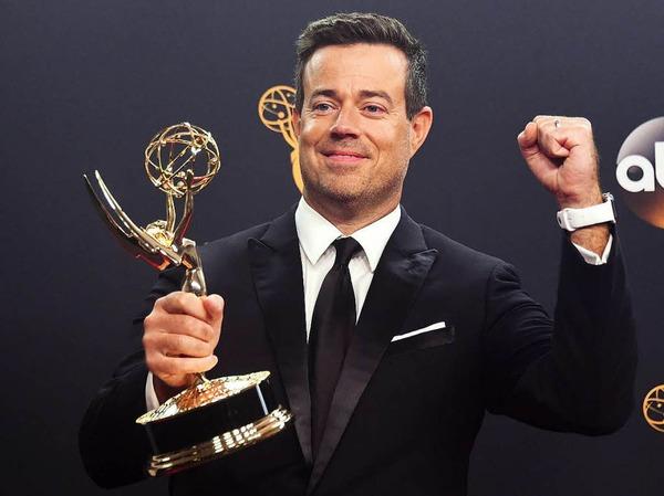 """Carson Daly gewann mit """"The Voice"""" den Emmy für die beste Realityshow."""