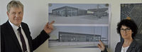 Autohaus Kandziorra plant Neubau im Gewann Roter Br�hl