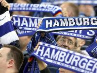 HSV-Fans besch�digen Stra�enbahn in Freiburg