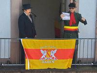 Tag der Demokratie in Lörrach: Ivo Gönner hält Revolutionsrede