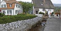 Kopfsteinpflaster f�r W�rmeleitungen aufgerissen