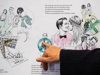 Landesregierung stellt Poster f�r Fl�chtlingshelfer vor