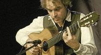 Falk Zenker, Gitarrist und Komponist, ist zu Gast im Kunstpalais Badenweiler