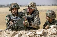 Deutsche Ausbilder nahe der IS-Front