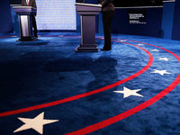 Erstes TV-Duell zwischen Clinton und Trump am Montag