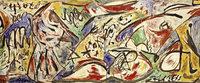 """Gro�e Sonderausstellung """"Der figurative Pollock"""" im Basler Kunstmuseum"""