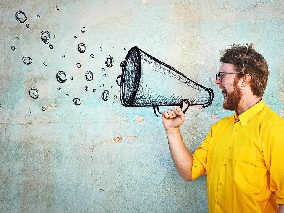Ängstlich, unsicher oder extrovertiert:  Die Stimme  offenbart den Charakter.  | Foto: olly - Fotolia