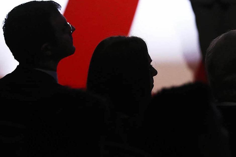 Hillary Clinton und Donald Trump treffen bei ihrem ersten TV-Duell aufeinander. (Foto: dpa)