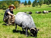 Schauinsland-Sch�fer zeigt: So sieht das Schaf aus, das ihr esst