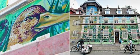 Streetart auf Freiburger Haus muss wieder weg - warum?