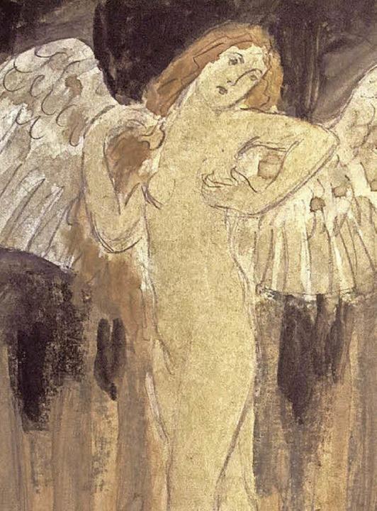engelsfiguren waren bevorzugte motive laeugers foto privat