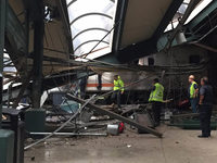 New York: Drei Tote und Dutzende Verletzte bei Zugungl�ck