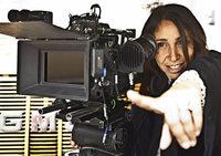 """Filmemacherin Haifaa al Mansour mit """"Das M�dchen Wadjda"""" im Friedrichsbau"""