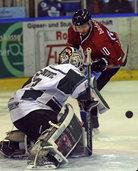 Bittere Niederlage für die Eishockey-Wölfe