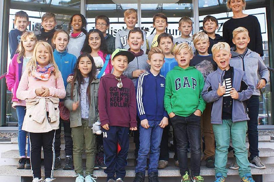 Klasse 4 der Marie-Luise-Kaschnitz-Schule Bollschweil (Foto: Kim Lübke)