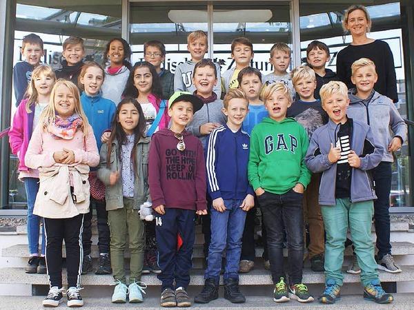 Klasse 4 der Marie-Luise-Kaschnitz-Schule Bollschweil