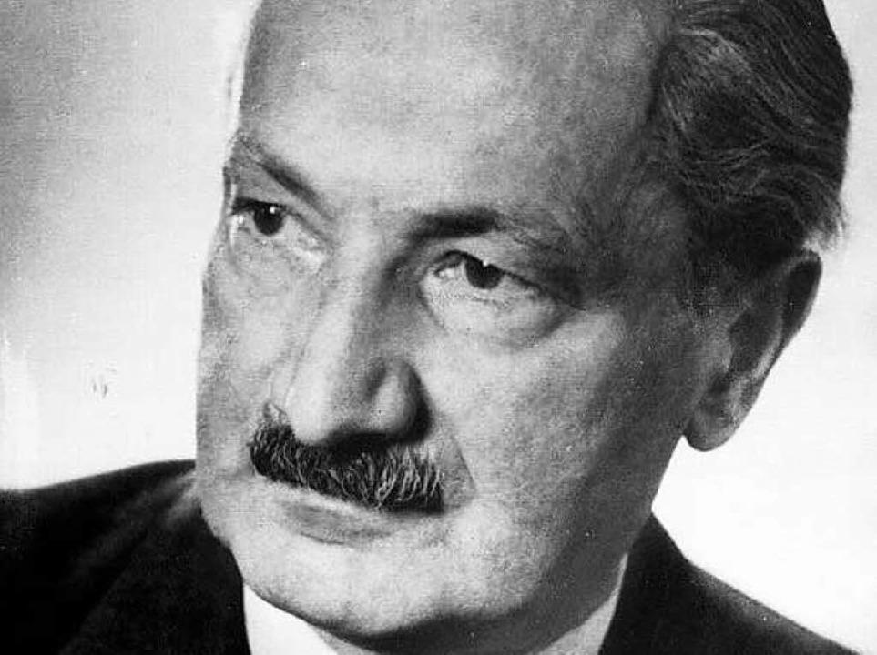 Martin Heidegger   | Foto: zdf