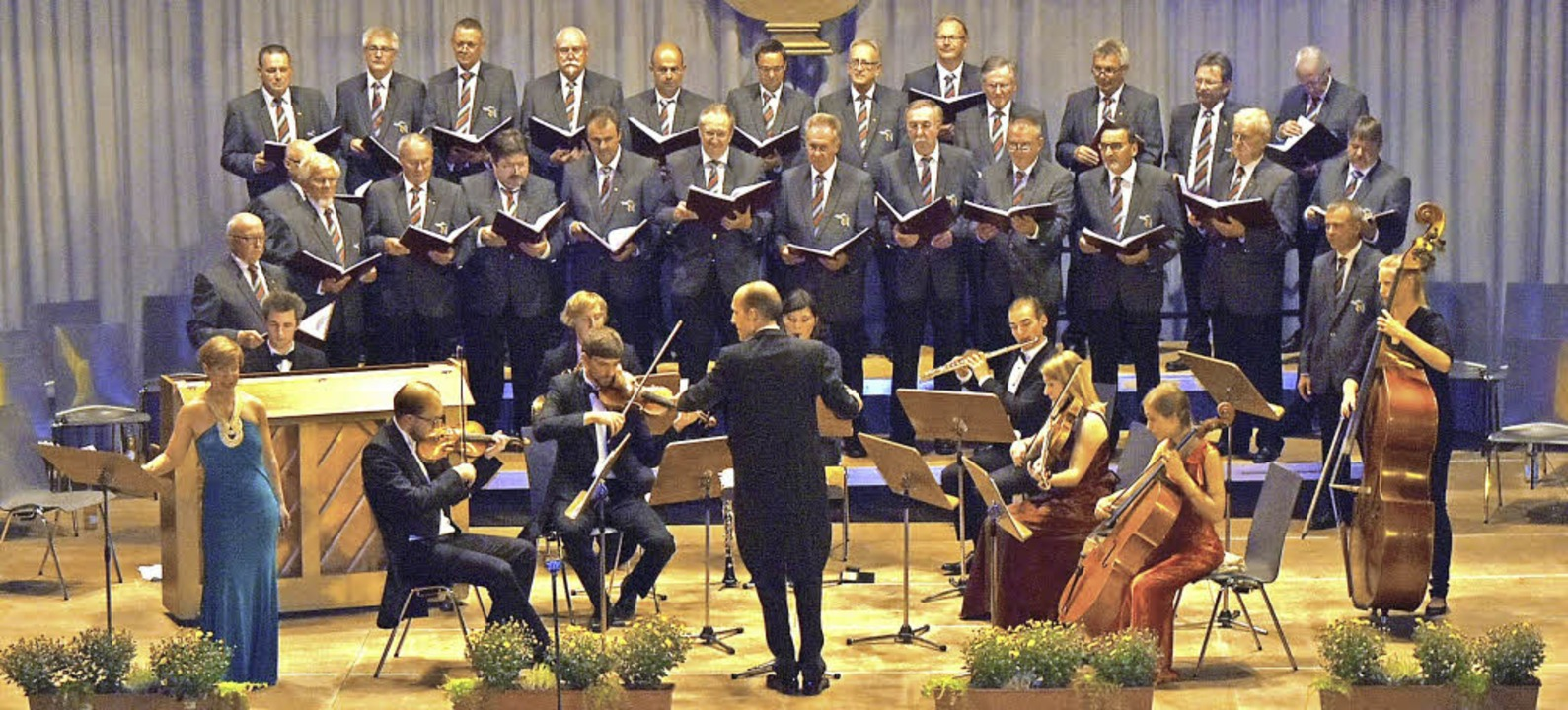 Eine gelungene musikalische Mischung: ...nd  die Sopranistin Katharina Kutsch.   | Foto: Andrea Steinhart