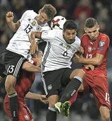 Die deutsche Fu�ball-Nationalelf gl�nzt beim 3:0-Sieg �ber Tschechien