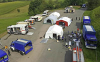 Feuerwehr rettet ein ganzes Zeltlager