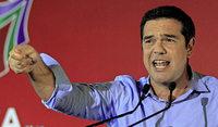 Linksb�ndnis Syriza versammelt sich zum ersten Parteitag