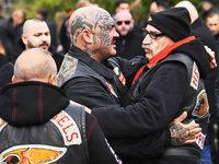 Hunderte Rocker bei Beerdigung von Hells-Angels-Chef