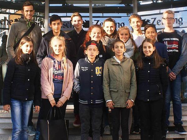 Klasse 8 der Freien-Christlichen Schule, Freiburg