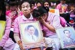 Fotos: Thailand trauert um den verstorbenen K�nig Bhumibol