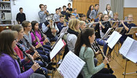 Premiere f�r neu gegr�ndetes Zeller Jugendorchester