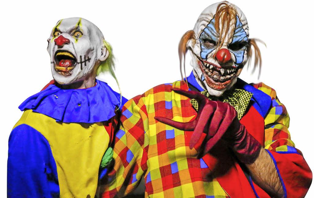 panorama die angst vor den clowns geht um badische. Black Bedroom Furniture Sets. Home Design Ideas
