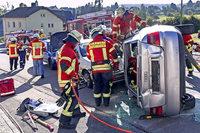 So lief die Herbstabschlussprobe der Feuerwehrabteilung Grafenhausen