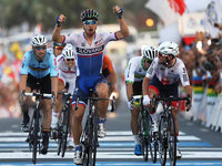 Peter Sagan gewinnt Rad-WM in Doha