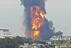 Fotos: Explosion auf Gel�nde der BASF in Ludwigshafen
