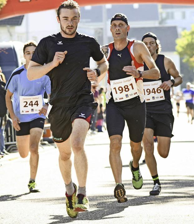 Viele Läufer wollten in Ettenheim dabei sein.   | Foto:  Sebastian Köhli